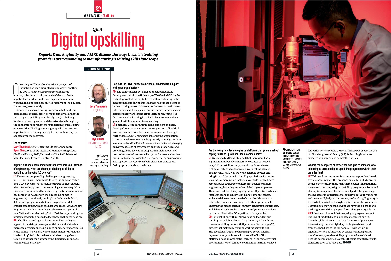 Q&A: Digital Upskilling
